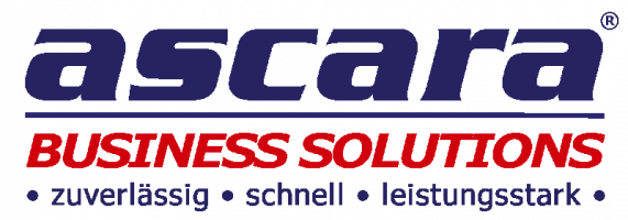 ascara Software ERP CRM Warenwirtschaft eCommerce zuverlässig schnell leistungsstark